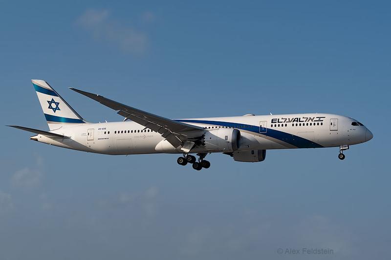 Boeing 787 from Tel-Aviv