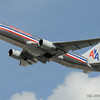 American Airlines B767 taking off at Miami International (KMIA)