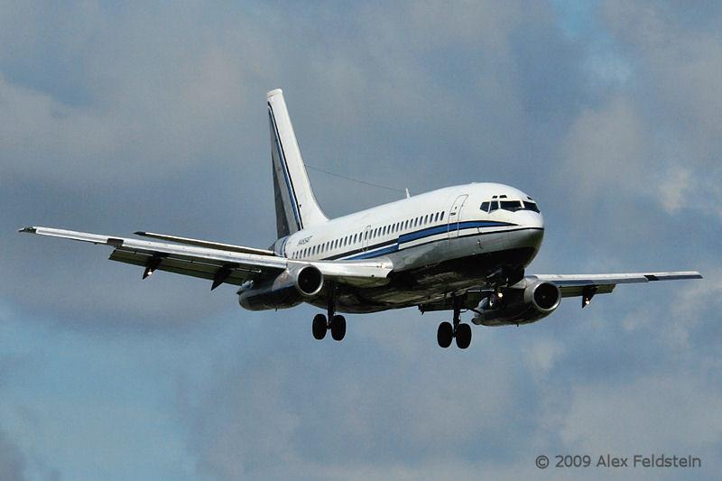 B737 coming from Cuba