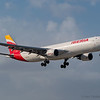 Iberia A-330 from Madrid