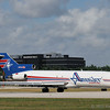 Amerijet Boeing 727 ready for takeoff