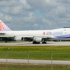 Boeing 747-409F - China Airlines Cargo - Miami International<br /> This one is an old image from October 2009 I never posted before