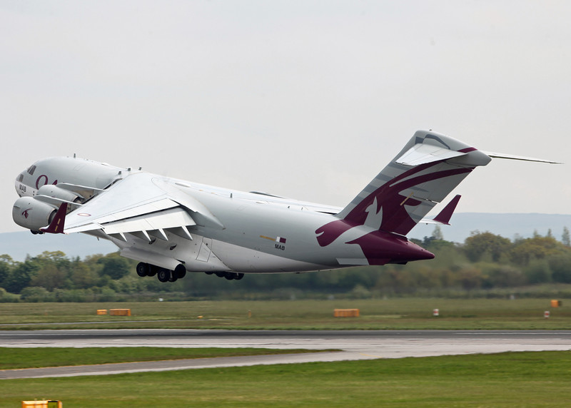 A7-MAB Boeing C-17 Globemaster III (Manchester Airport) Qatar Emiri Air Force [8]