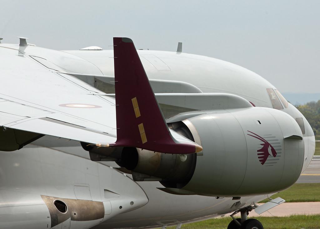 A7-MAB Boeing C-17 Globemaster III (Manchester Airport) Qatar Emiri Air Force [5]
