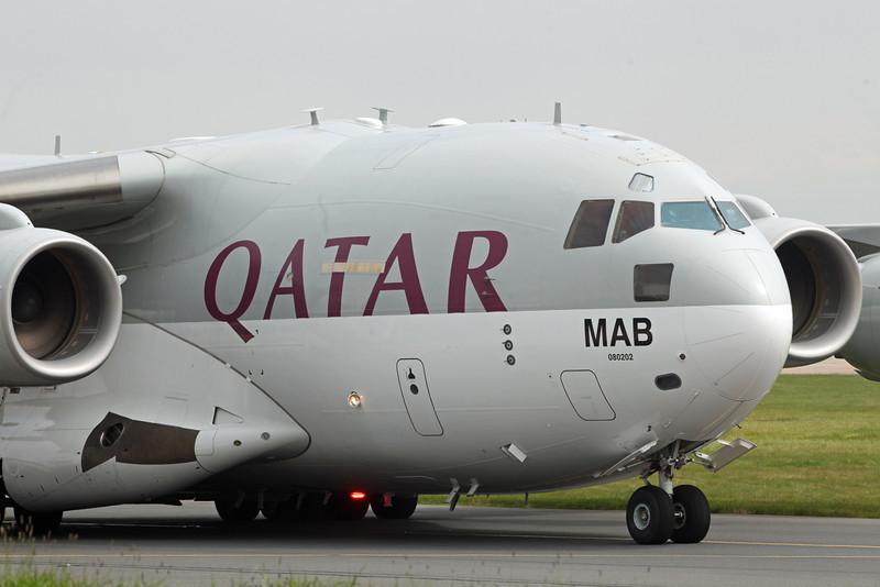 A7-MAB Boeing C-17 Globemaster III (Manchester Airport) Qatar Emiri Air Force [6]
