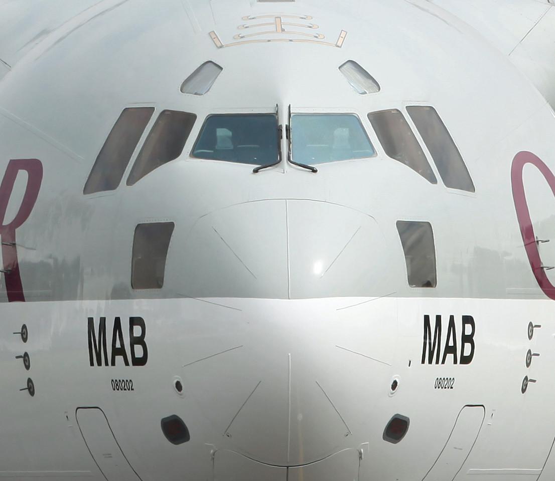 A7-MAB Boeing C-17 Globemaster III (Manchester Airport) Qatar Emiri Air Force [1]