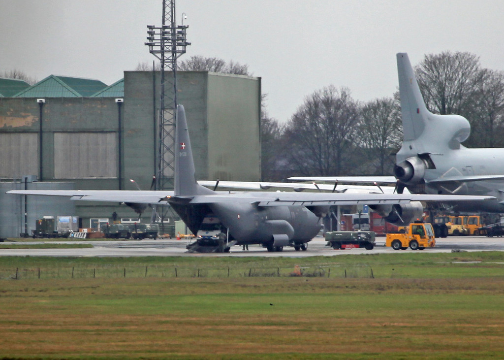B-538 Lockheed C130J 'hercules' Royal Danish Air Force [4]