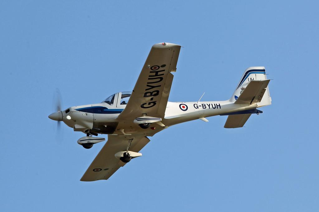 G-BYUH Grob G-115E Tutor (Boscombe Down) Babcock Aerospace Ltd