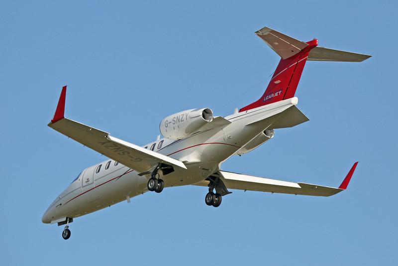 G-SNZY Learjet 45XR (Boscombe Down) TAG Aviation (UK) Ltd [1]