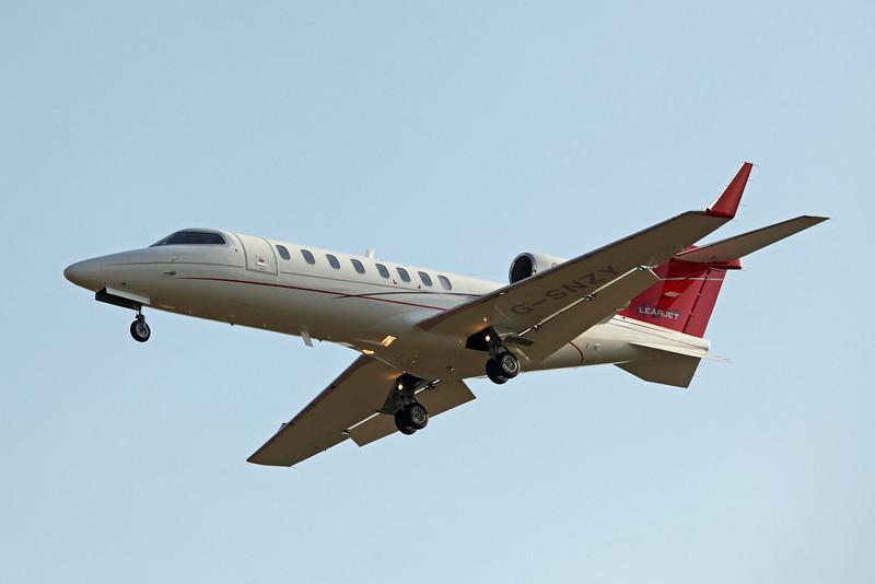 G-SNZY Learjet 45XR (Boscombe Down) TAG Aviation (UK) Ltd