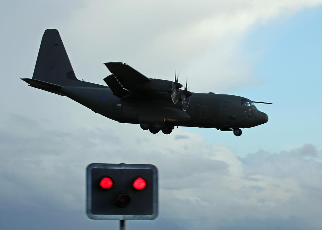 Lockheed C130 ZH885 - RAF Brize Norton [3]