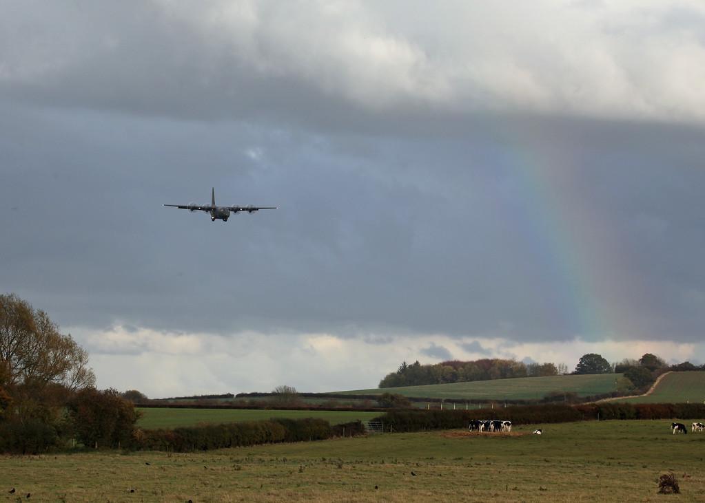 Herc and the rainbow