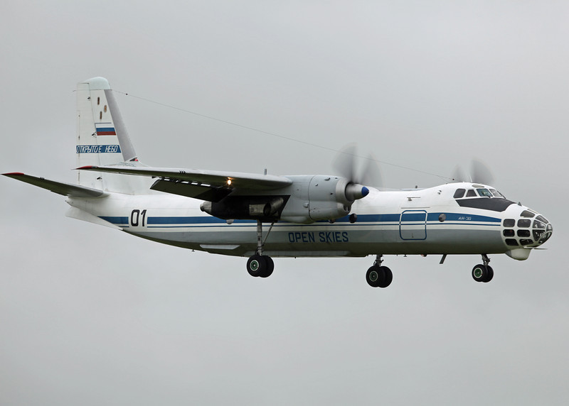 No Reg Antonov AN-30 (RAF Brize Norton) Open Skies [1]