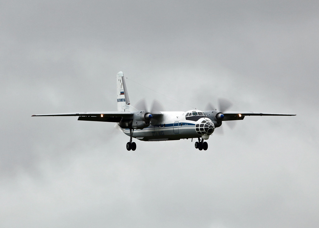 No Reg Antonov AN-30 (RAF Brize Norton) Open Skies