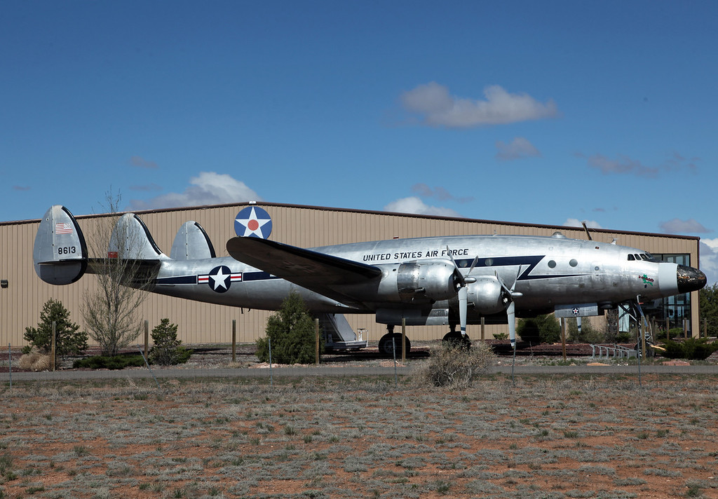 N422NA Lockheed C121 Constellation (K40G) Planes of Fame Museum