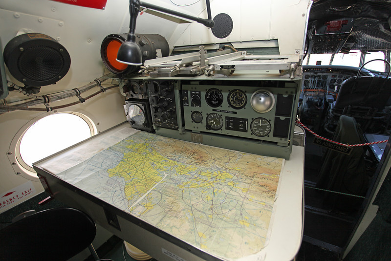 N422NA Lockheed C121 Constellation (K40G) Planes of Fame Museum (Map Table)