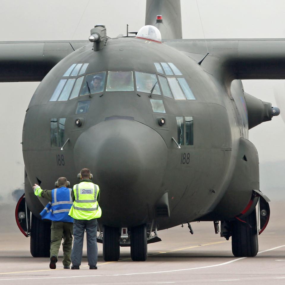 XV188 Lockheed C-130K Hercules C3A (RAF Brize Norton) Royal Air Force [1]