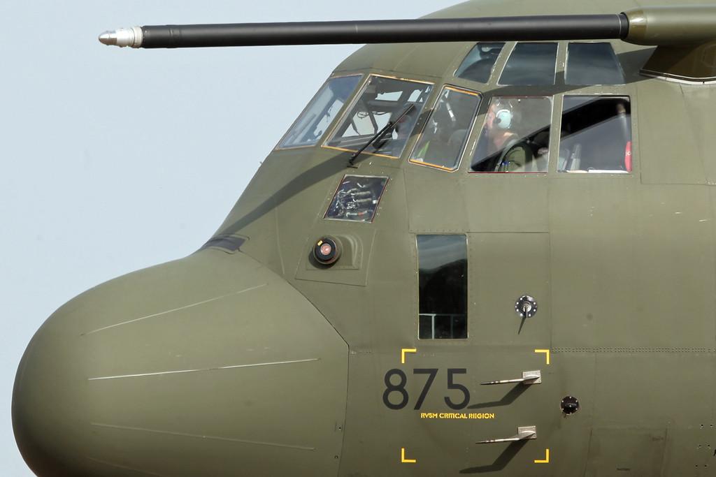 ZH875 Lockheed C-130J Hercules C 4 (RAF Brize Norton) Royal Air Force [2]