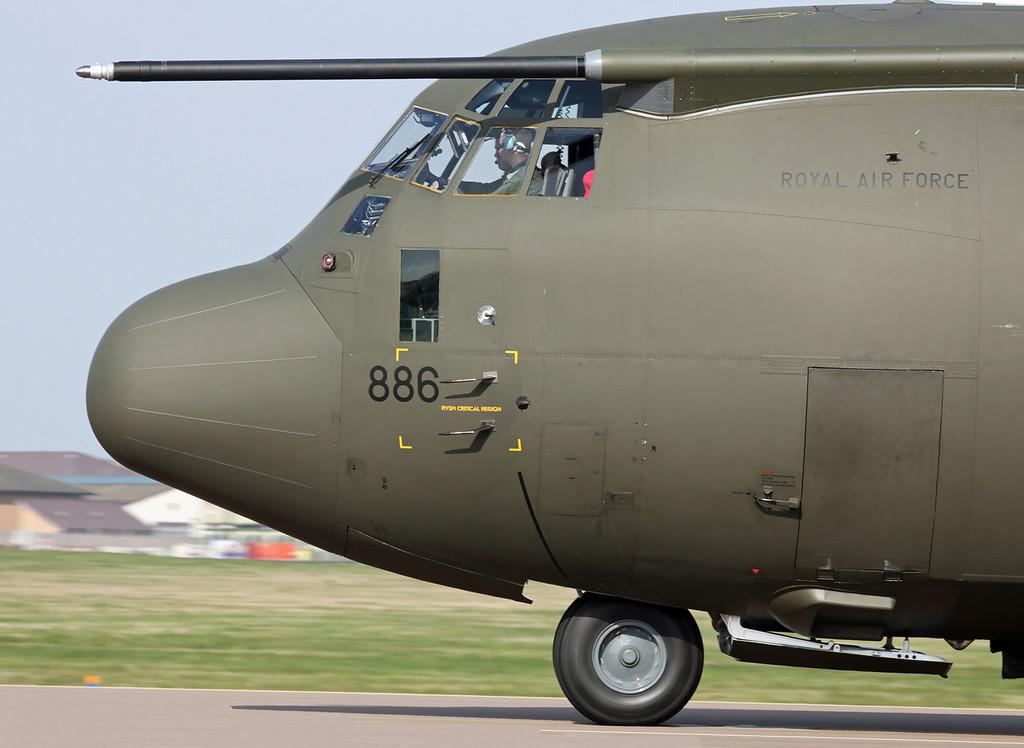 ZH886 Lockheed C-130J Hercules C5 (RAF Brize Norton) Royal Air Force [1]