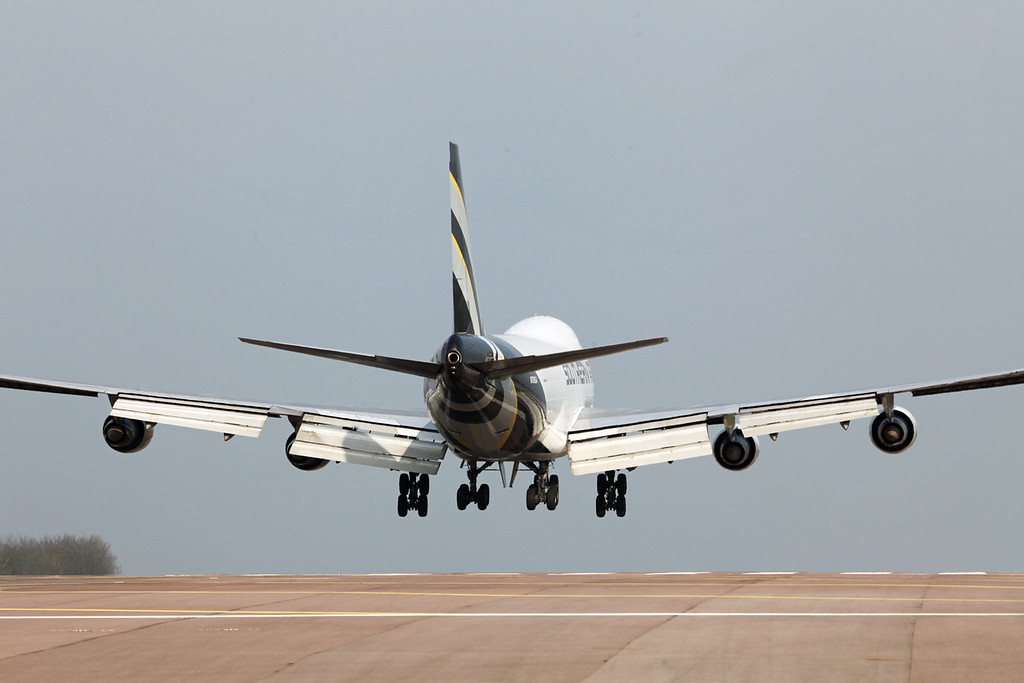 N708SA Boeing B747-2B5F (RAF Brize Norton) Southern Air {2}