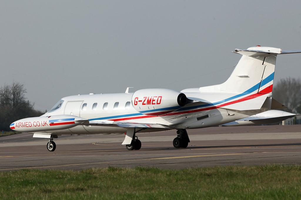 G-ZMED Learjet 35A (RAF Brize Norton) Air Medical Ltd