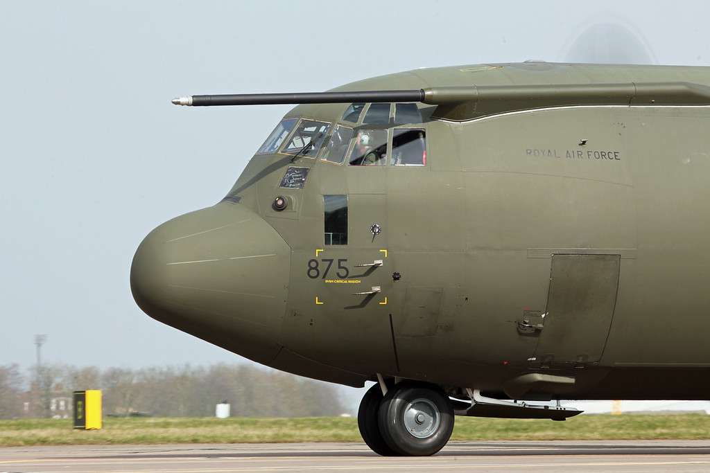 ZH875 Lockheed C-130J Hercules C 4 (RAF Brize Norton) Royal Air Force [1]