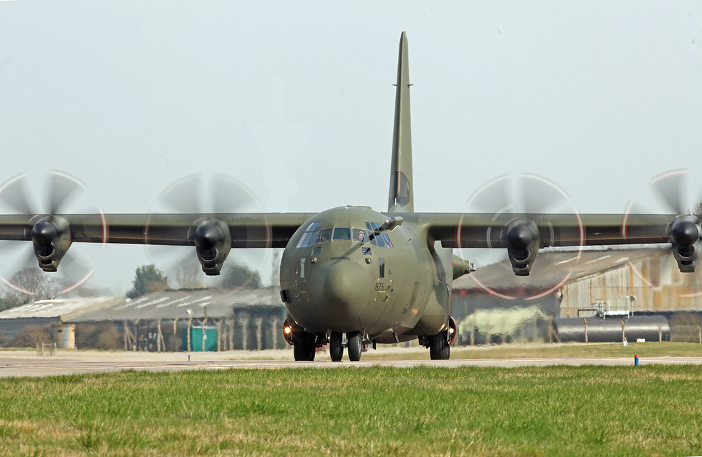 ZH875 Lockheed C-130J Hercules C 4 (RAF Brize Norton) Royal Air Force