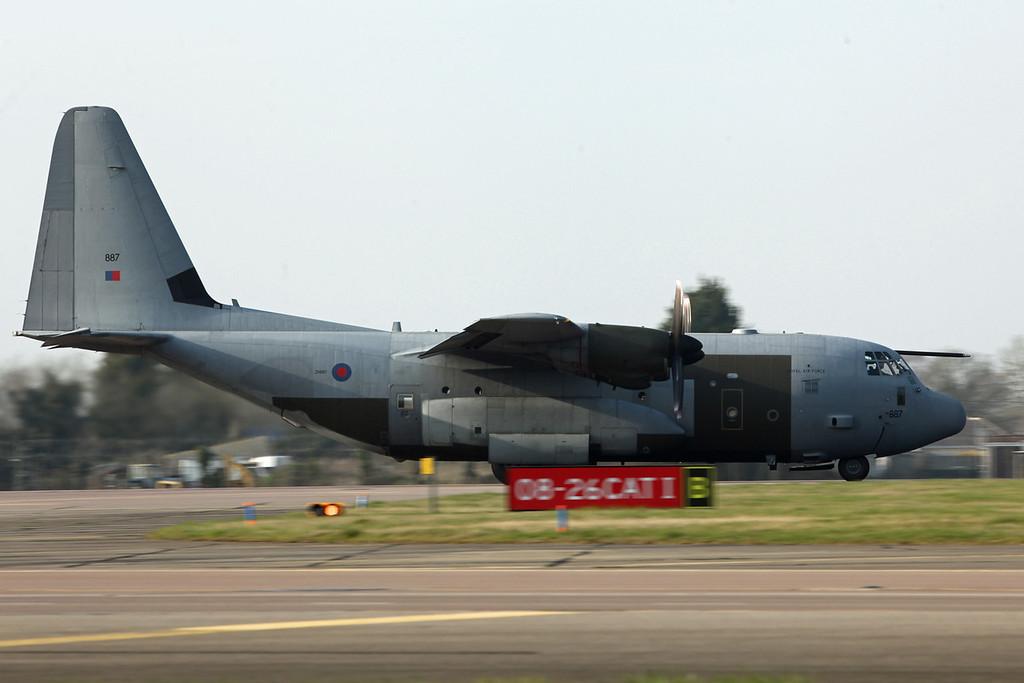 ZH887 Lockheed C-130J Hercules C5 (RAF Brize Norton) Royal Air Force