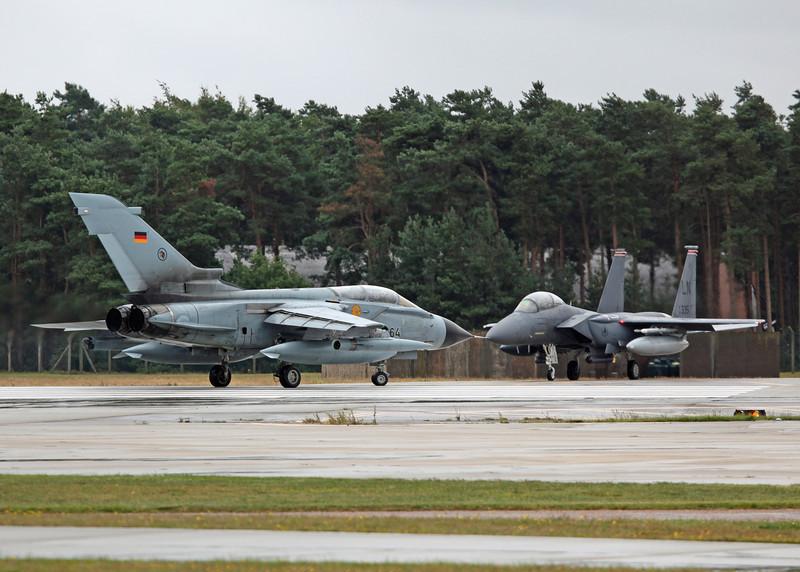 German Tornado v USAFE F15