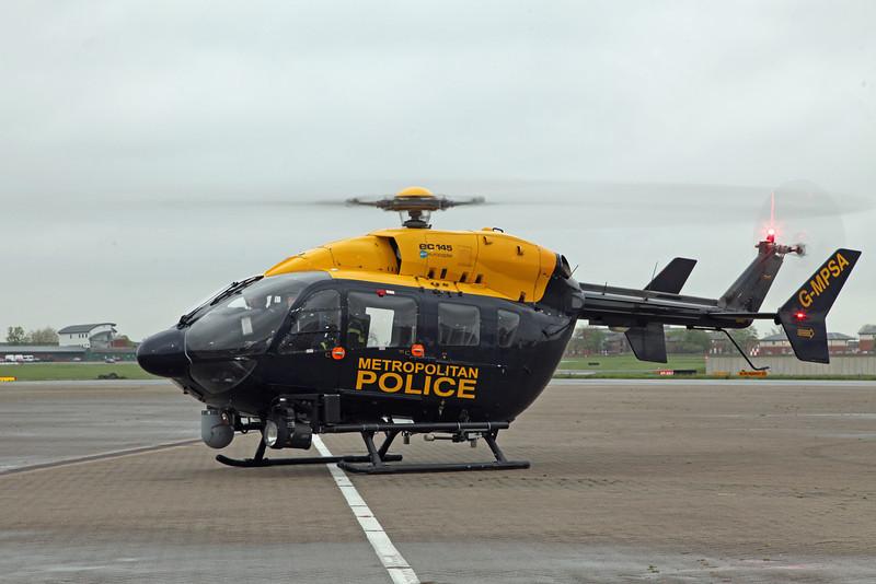 G-MPSA Eurocopter EC145 (RAF Northolt) Metropolitan Police