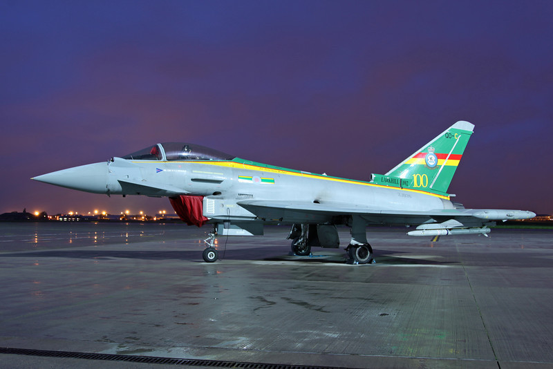 ZJ936 BAe Typhoon FGR4 (RAF Northolt) Royal Air Force