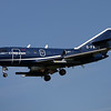 Cobham Flight Inspection Dassault Falcon (Mystere) 20DC Coningsby (EGXC) UK - England, September 17, 2015 Reg: G-FRAS