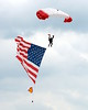 Parachute Teams - Chicago Air & Water Show - Chicago, Illinois - Photo Taken: August 16, 2014