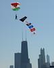 Parachute Teams - Chicago Air & Water Show - Chicago, Illinois - Photo Taken: August 18, 2013