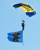 Military Parachute Teams - US Navy Leap Frogs - Chicago Air & Water Show - Chicago, Illinois - August 18, 2012
