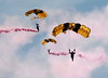 Military Parachute Teams - US Army Golden Knights - Chicago Air & Water Show - Chicago, Illinois - Photo Taken: August 18, 2012