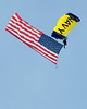 Military Parachute Teams - US Navy Leap Frogs - Chicago Air & Water Show - Chicago, Illinois - Photo Taken: August 16, 2014