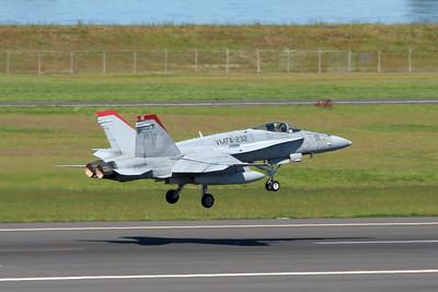 "US Marines Boeing (McDonnell Douglas) FA-18D Hornet 165681 / WT-02 (cn 1476/TAFD002) VMFA-232 ""Red Devils"""