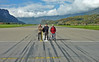Meringen, Switzerland, where else could you cross an active military runway with no hassle!