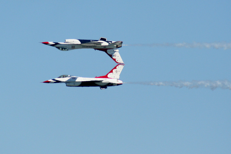 USAF Thunderbirds.