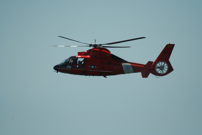 MH-68 Coast Guard Helicopter.