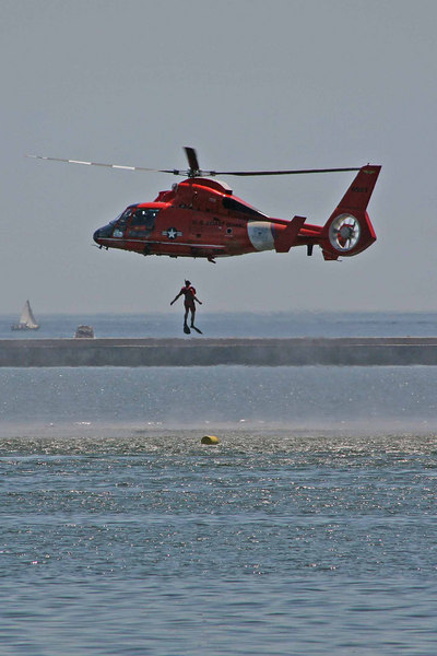 Coast Guard rescue demo