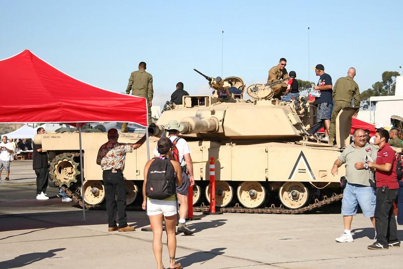 USA 2009 - MCAS Miramar Air Show - M1 Abrams