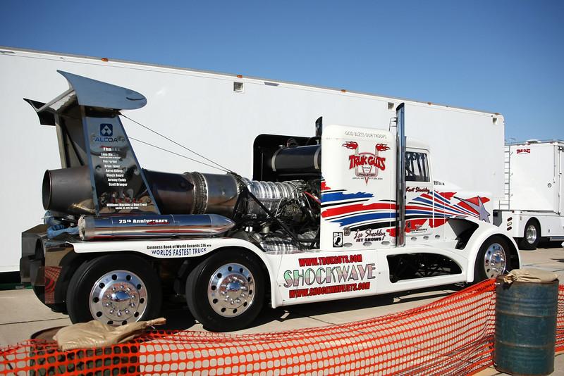 """USA 2009 - MCAS Miramar Air Show - Shockley's """"Shockwave"""" Jet Truck"""