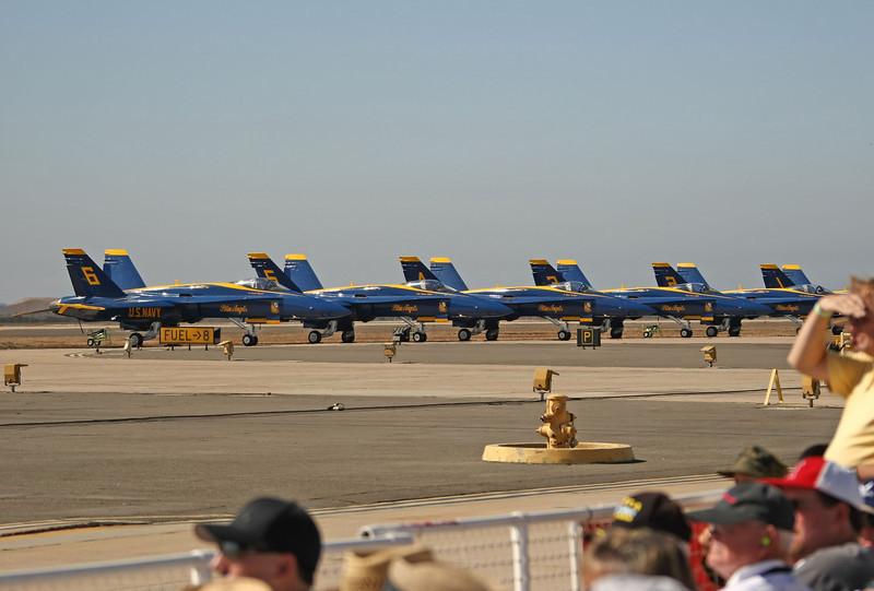 USA 2009 - MCAS Miramar Air Show - US Navy Blue Angels