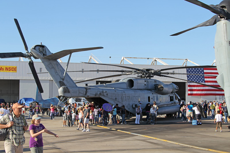 USA 2011 - MCAS Miramar Air Show - CH-53E Super Stallion