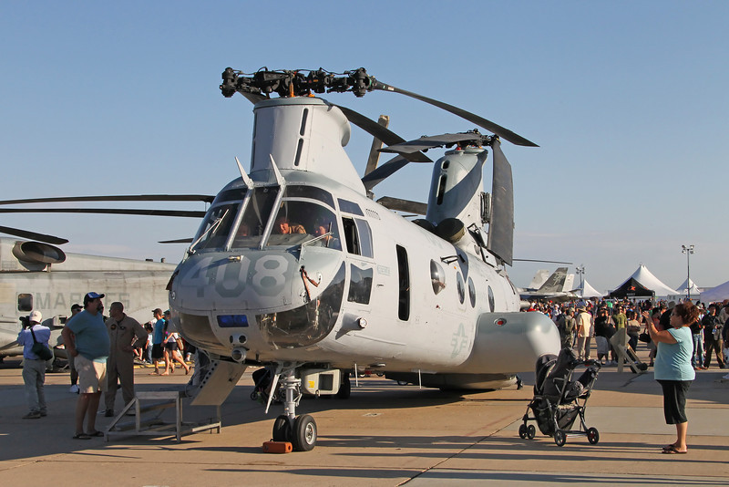 USA 2011 - MCAS Miramar Air Show - CH-46 Sea Knight