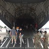 The belly of the C-17 is huge, but not as big as the C-5.