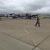 The crowds were lightest on Friday. Still got the chance to talk to lots of folks interested in these RV airplanes.