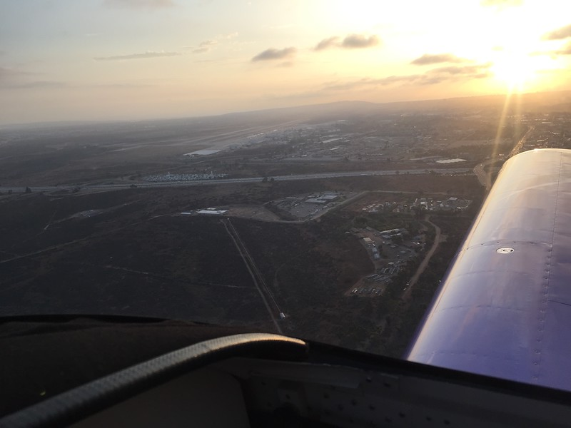 On base for Runway 24R. Cleared to land!